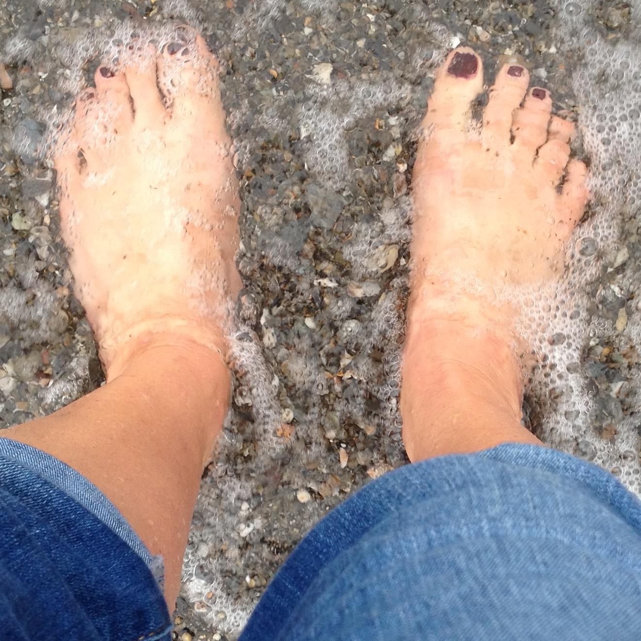 Ontspannende voetreflexzonemassage